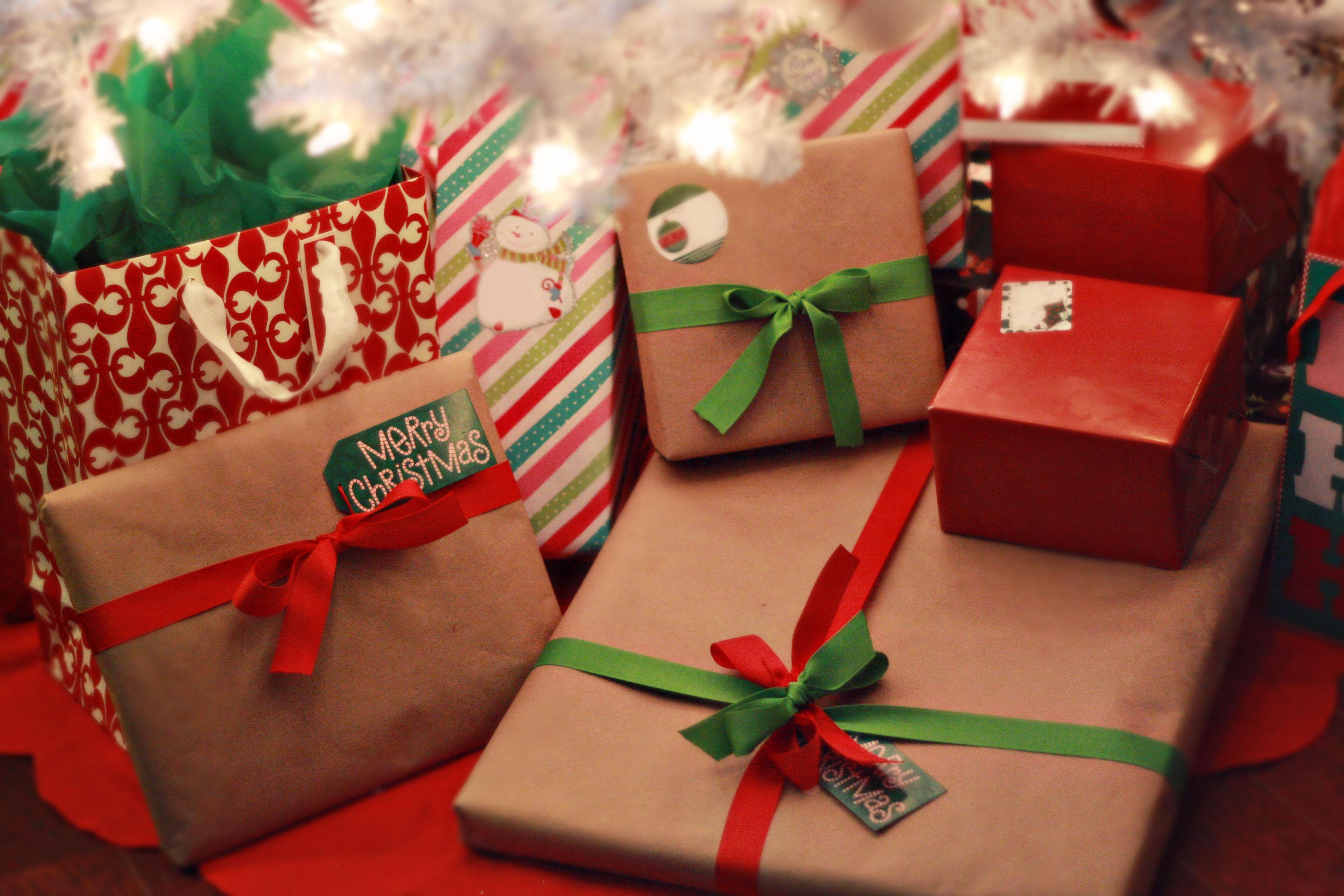 Вдохновение новогодние подарки